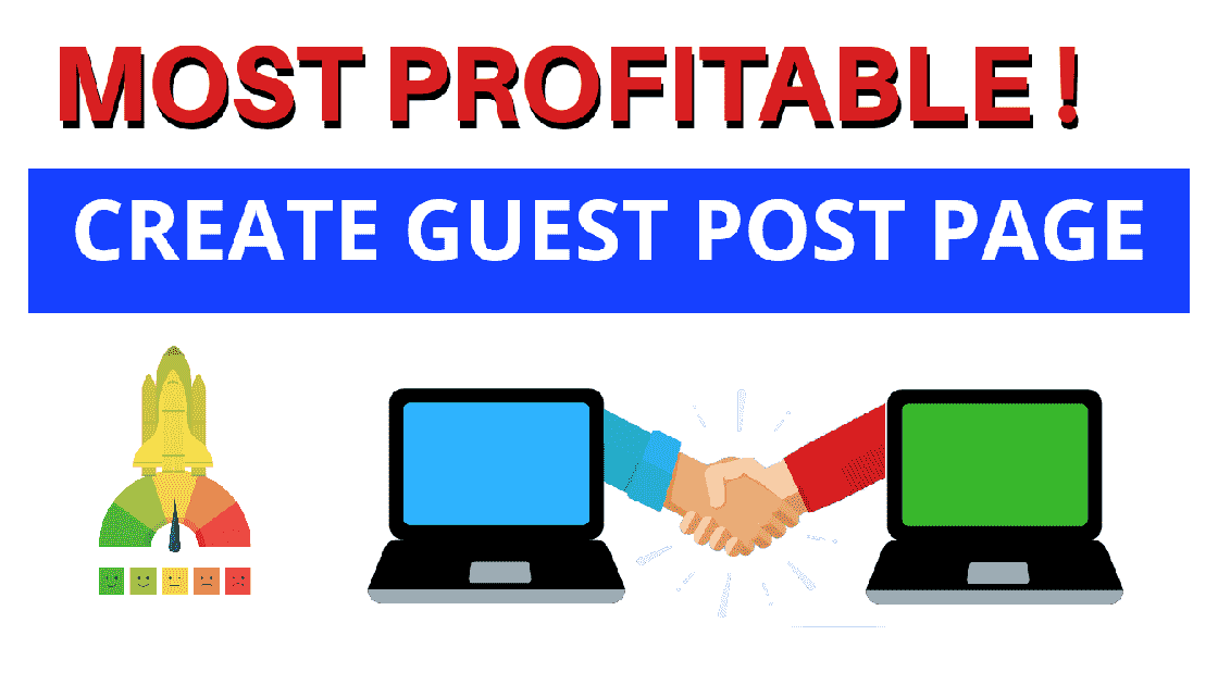 guest post page on blogger