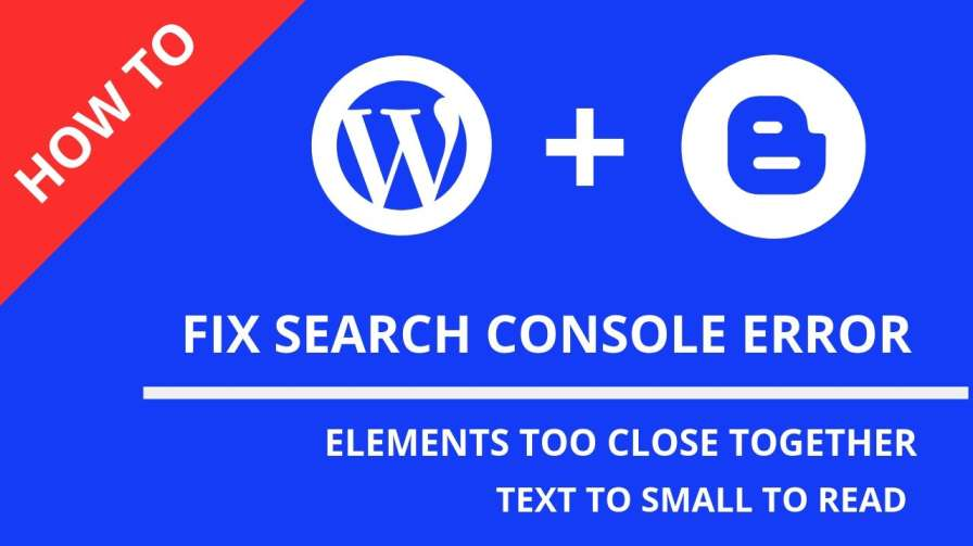 how to fix text too small to read error to your blogs