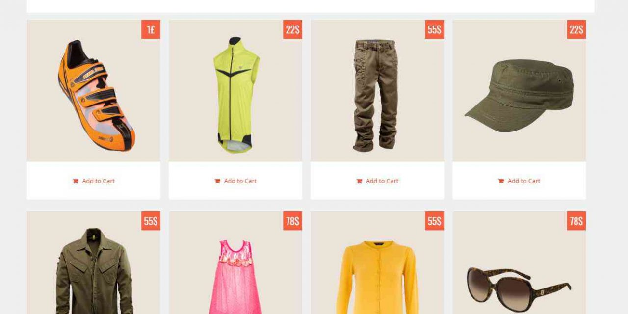Top 5 e-commerce themes for blogger