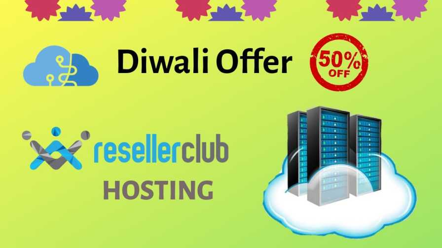 Diwali offer with reseller club
