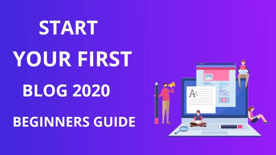 Start your first blog in 2020 by blogsguru
