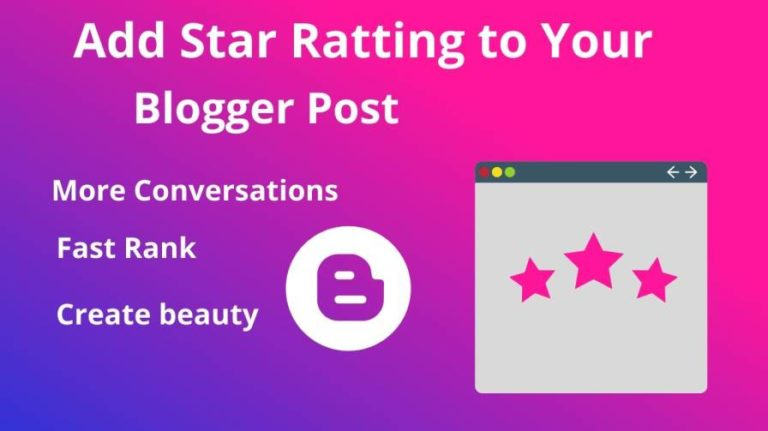 How to add star Snippet to your blog post by website