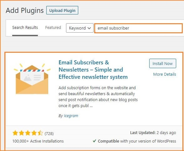 Email-Subscriber-box
