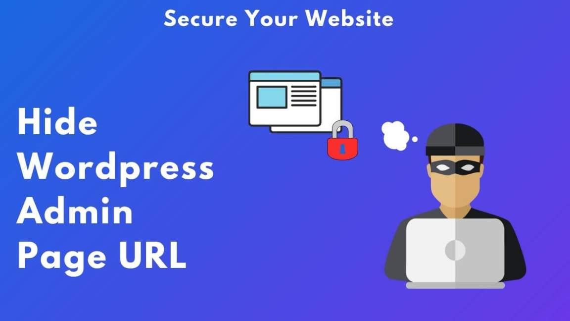 Hide Wordpress admin page URL