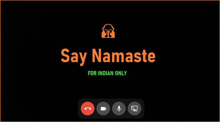 Say Namaste