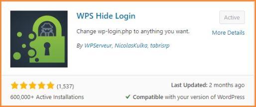 WP-Hide Login