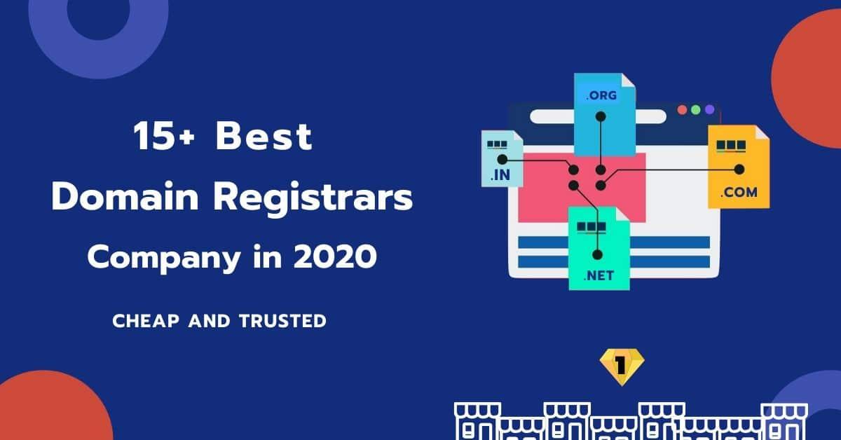 15+ Best Domain Registrars Company