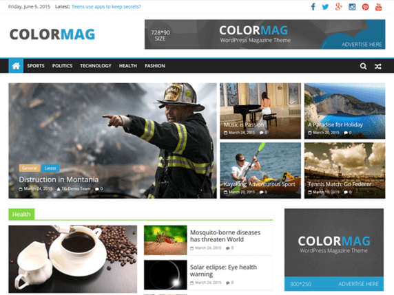 ColorMag by WordPress