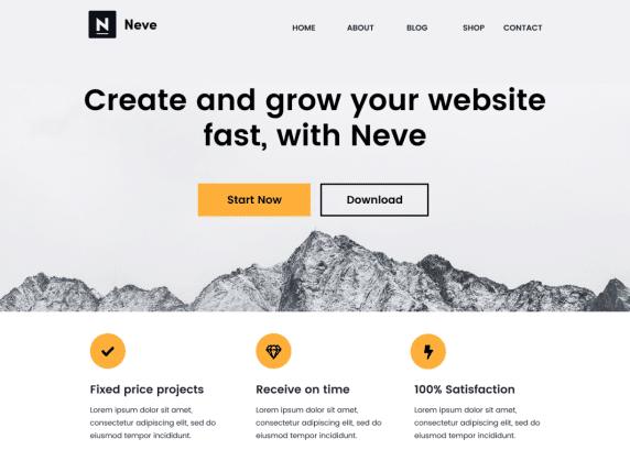Neve by WordPress