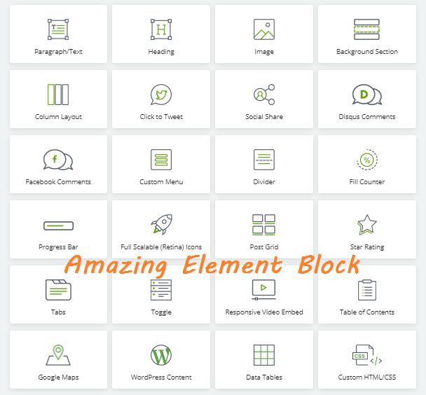 Amazing Block elements