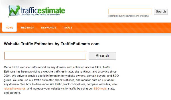 Traffic estimate Checker