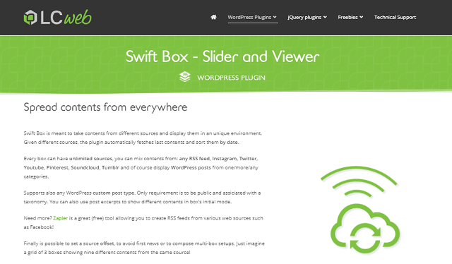 Swiftbox plugins for wordpress